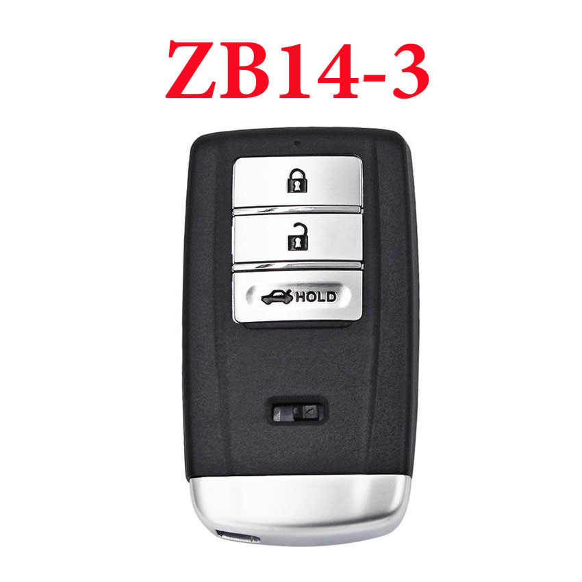 Universal ZB14-3 KD Smart Key Remote for KD-X2 - Pack of 5