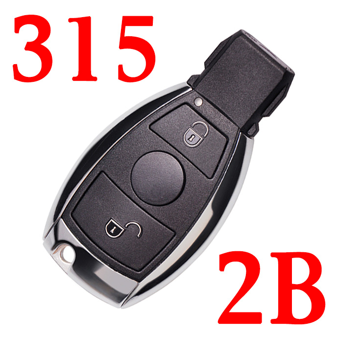 315 MHz 2 Buttons BE Remote Key for Mercedes Benz