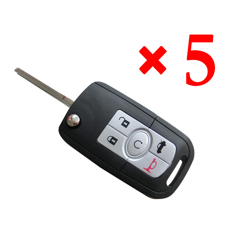 5 Button Key Shell for Buick 5pcs