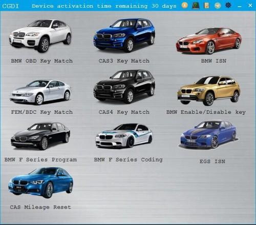 EGS ISN Authorization for CGDI Prog BMW MSV80 Key Programmer