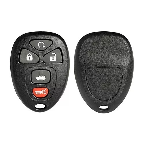5 Buttons Remote Key Shell for GMC - Pack of 5