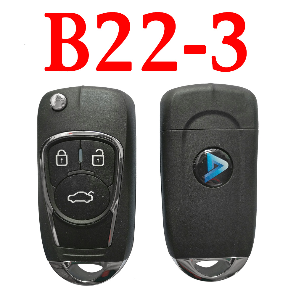 KEYDIY B22-3 KD Remote control - 5 pcs