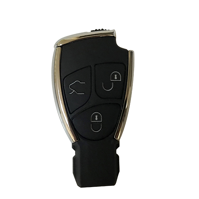 Old Stype Key Shell for Mercedes Benz Black Color