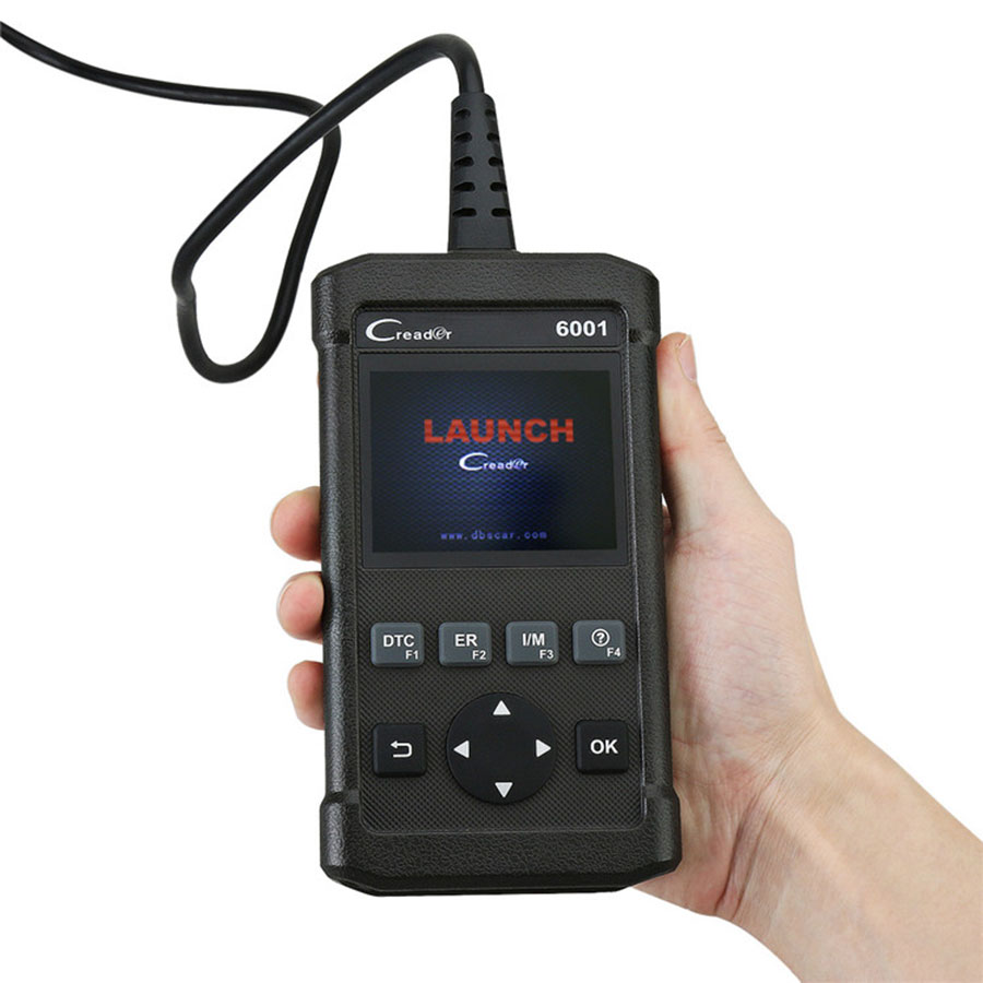 Launch CReader 6001 Scanner - Support O2 Sensor Test