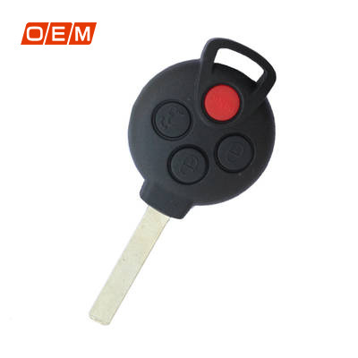 4 Button Genuine Remote 2008 2014 with Blade 315MHz A4518203797 for Smart Fourtwo
