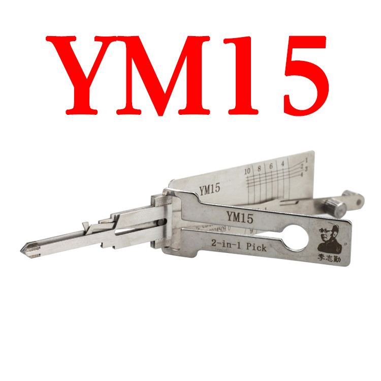 Original LISHI YM15 Auto Pick and Decoder For BENZ Truck
