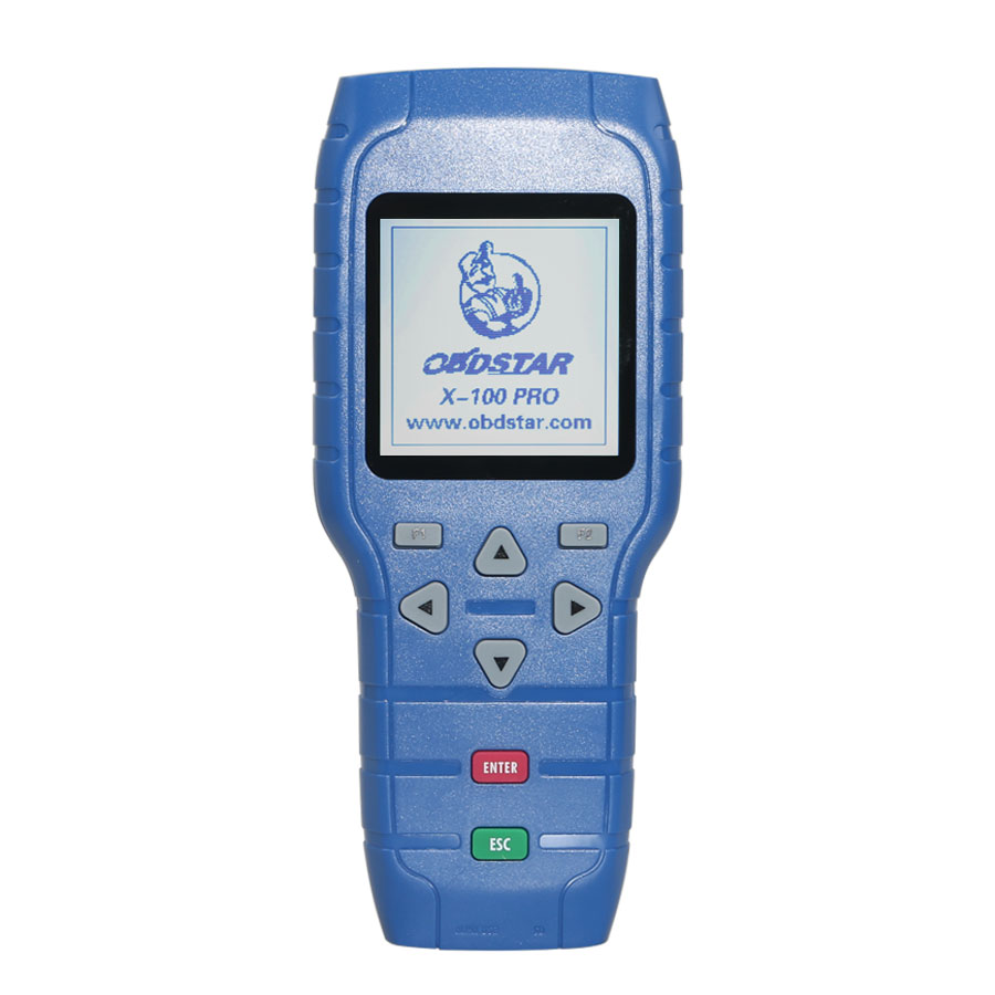 OBDSTAR X100 PRO Auto Key Programmer (C+D) Type for IMMO+Odometer+OBD Software Get Free PIC and EEPROM 2-in-1 Adapter