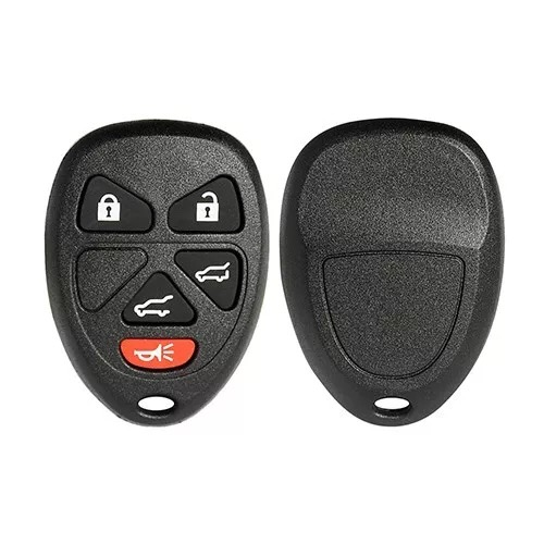 5 Buttons Remote Shell for GMC - Pack of 5
