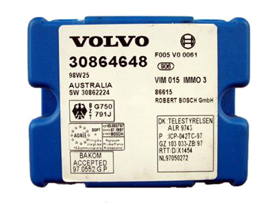 TMPro Software Module 34 for Volvo IMMO3 Immobox Bosch