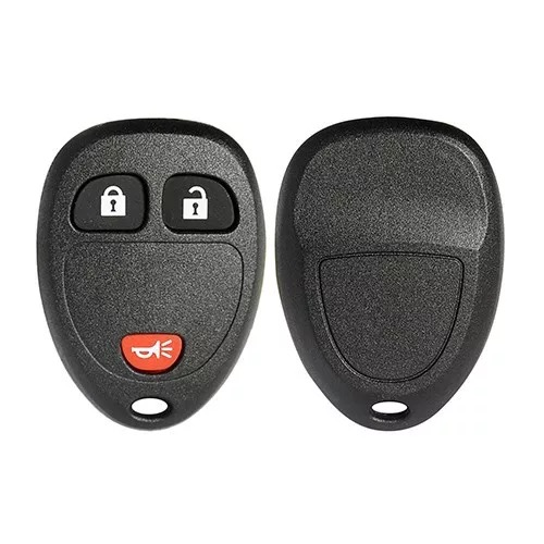 3 Buttons Remote Key Shell for GMC - Pack of 5