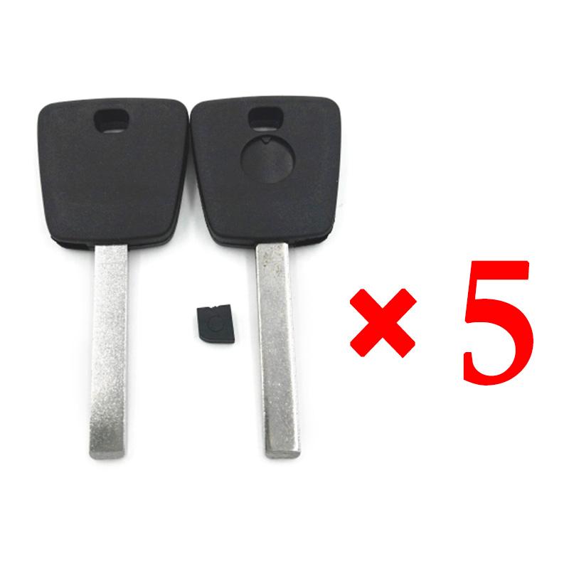 Transponder Key Shell for Buick 5 pcs