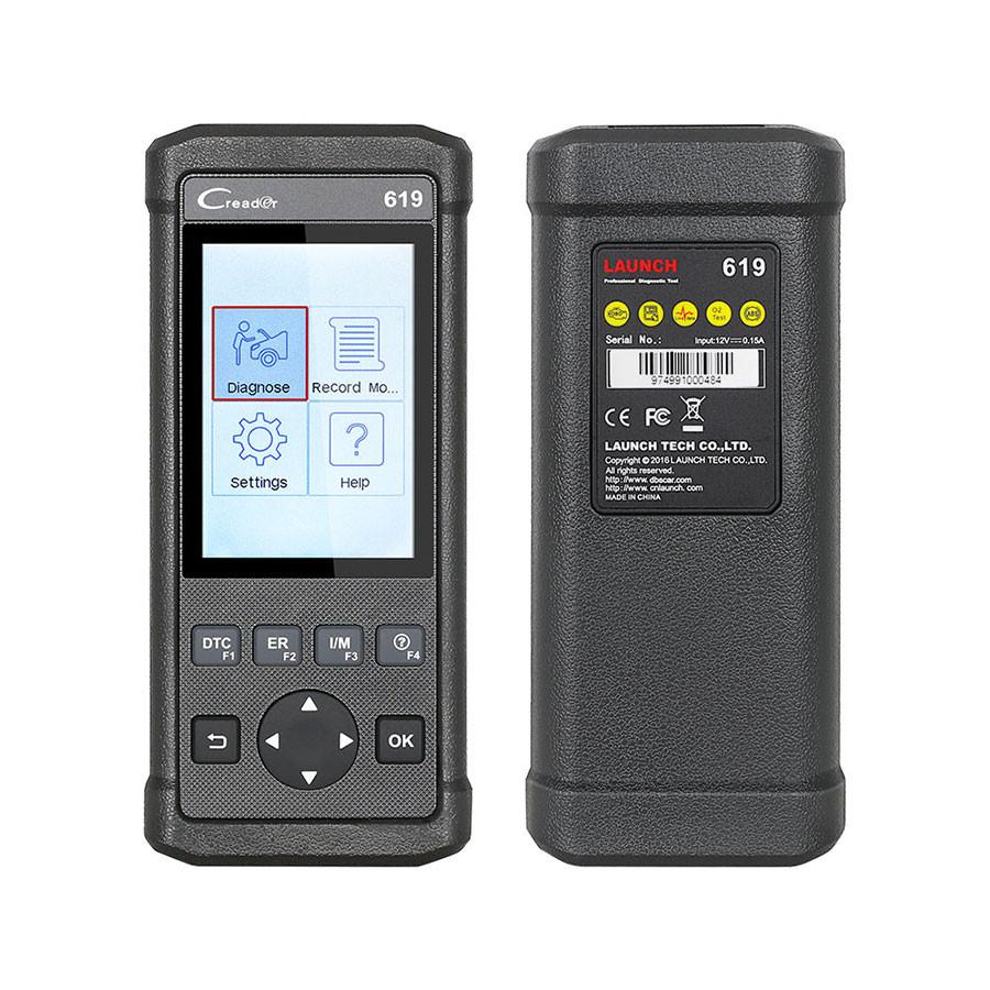 Launch Creader 619 Code Reader Full System OBD2 EOBD Scanner