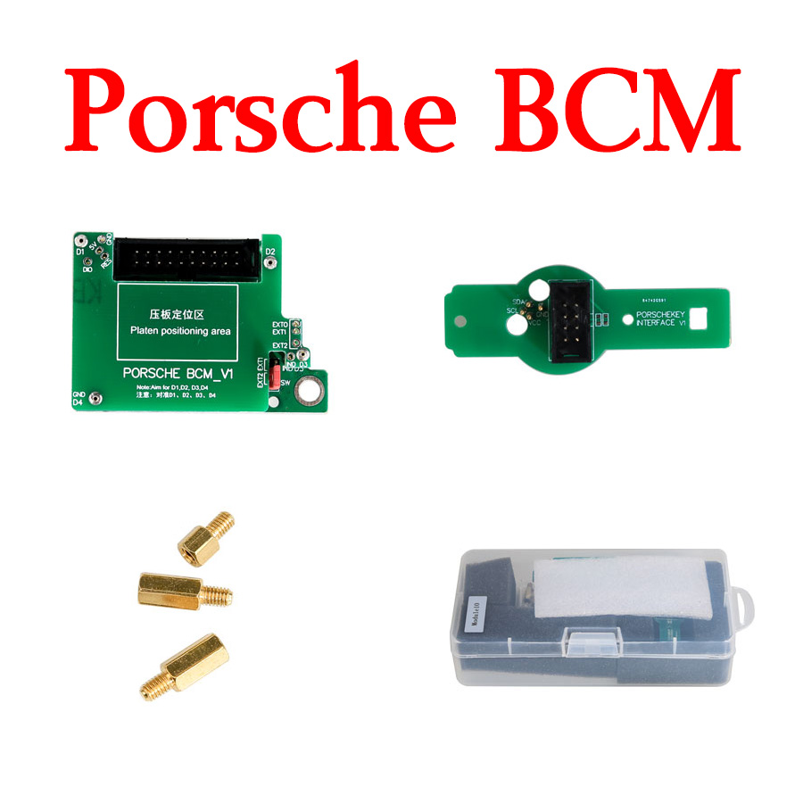 Yanhua Mini ACDP Module 10 - Porsche BCM Key Programming Support Add Key & All Key Lost from 2010-2018