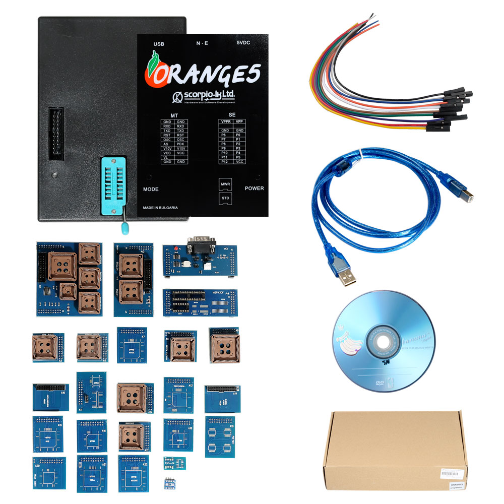 Not Original Orange 5 With Full Adapter Kit