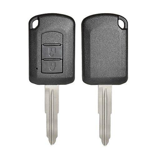 2 Buttons Key Shell For Mitsubishi- 5 pcs