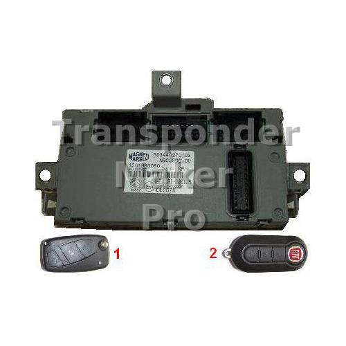 TMPro Software Module 112 for Fiat Lancia PSA BSI Marelli Type 3