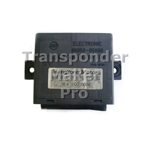 TMPro Software Module 85 for Ssangyong Immobox VDO
