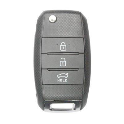 3 Buttons Flip Remote Key Shell for KIA (5pcs)