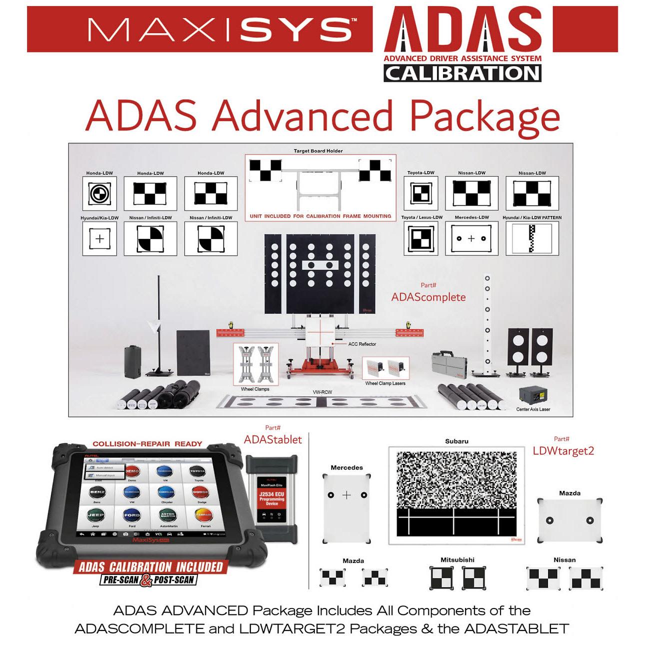 Autel ADAS Advanced Package