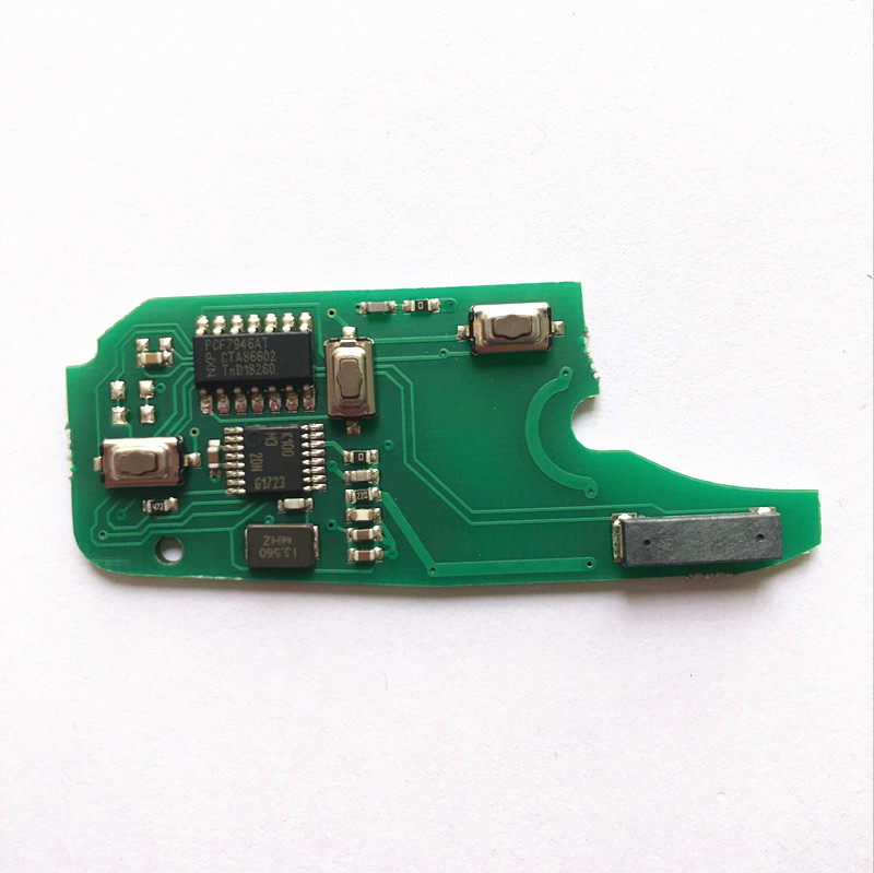 Fiat Fiorino Remote PCB 3 Buttons 433MHz Delphi BSI Type PCF7946 High Quality