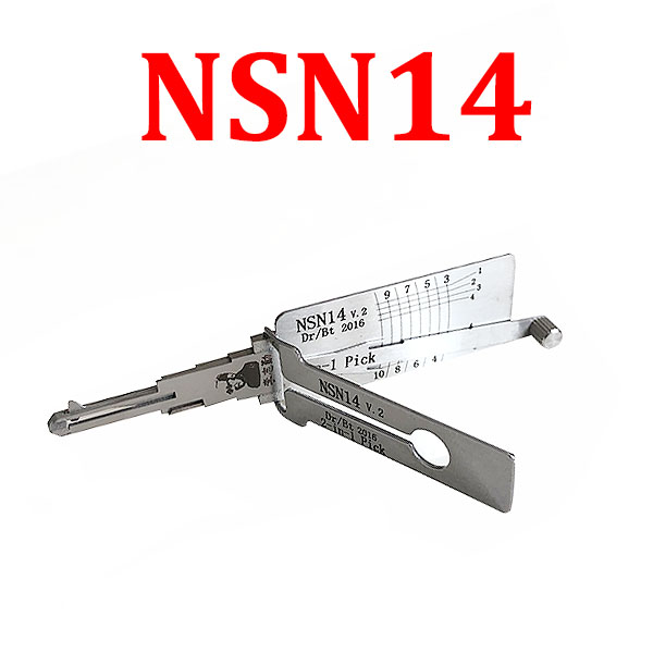LISHI NSN14 Auto Pick and Decoder for Nissan Subaru
