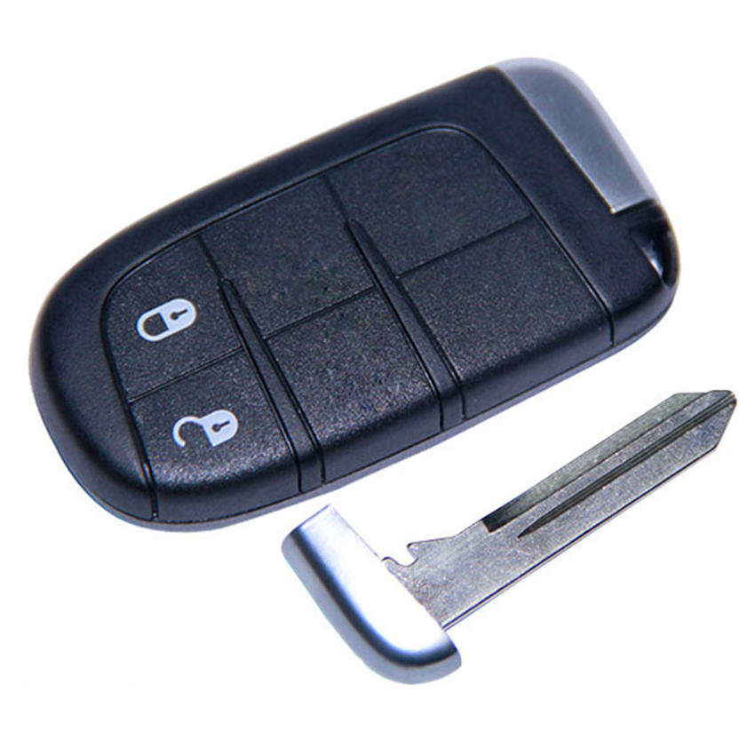 2 Button 433 MHz keyless go remote for Fiat
