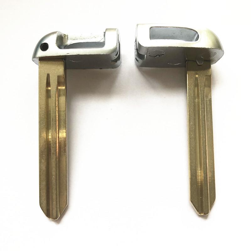 Smart Emergency Key Blade Left for KIA Hyundai - Pack of 10