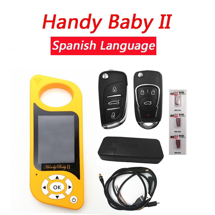 Original Spanish Version Handy Baby II  Handy Baby 2  Spanish with G & 96 bit 48 Clone Function Activated