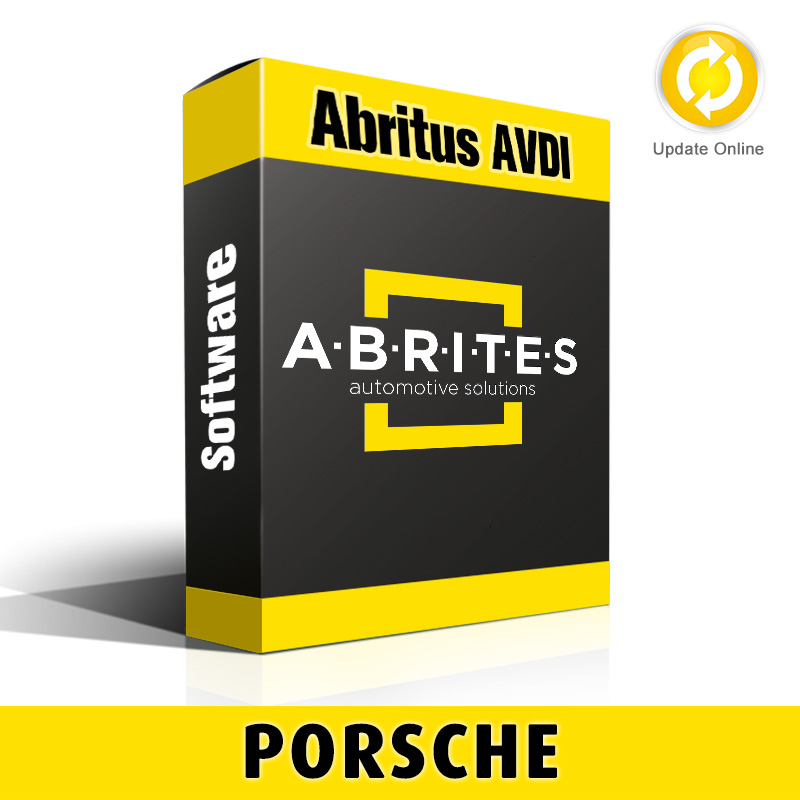 PO006 Porsche Instrument Cluster/Engine Control Module Recalibration Software for Abritus AVDI