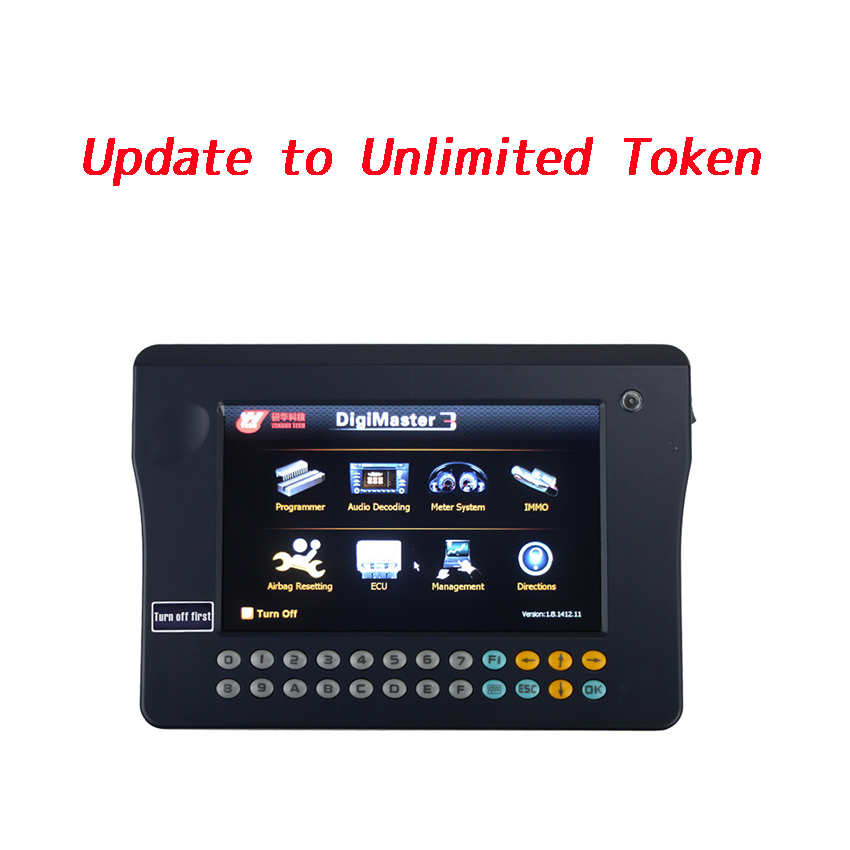 Service to Activate Digimaster III to Unlimited Tokens Version
