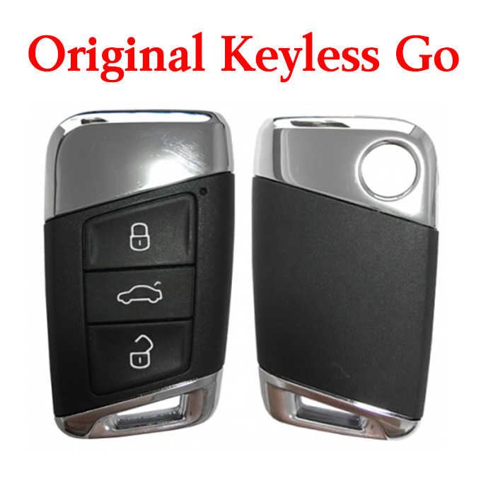 Original 3 Buttons 434 MHz Smart Proximity Key for VW Magotan B8 Passat - 3G0 959 752