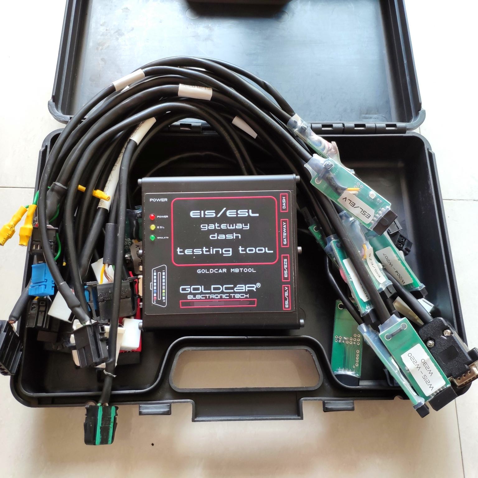 EZS EIS ELV ESL Dash Gateway Super Tester Full Set for Mercedes Benz - Do Jobs on Bench