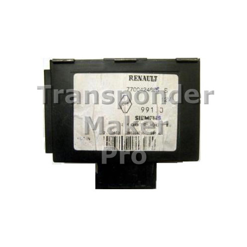 TMPro Software Module 79 for Renault Megane Immobox Siemens
