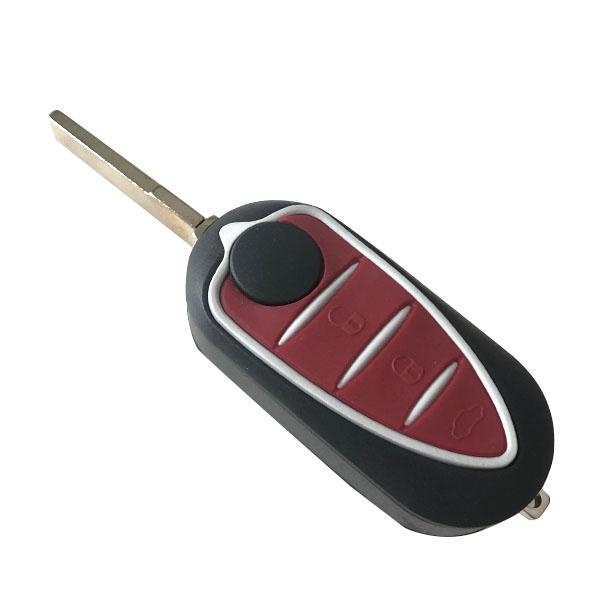 Flip Remote Key Fob For Alfa Romeo Giulietta (Marelli) - 434 MHz PCF7946AT - 71765806