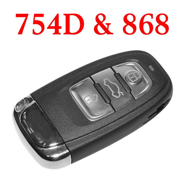 868 MHz Remote Key for Audi A4L Q5 - 8T0 959 754D