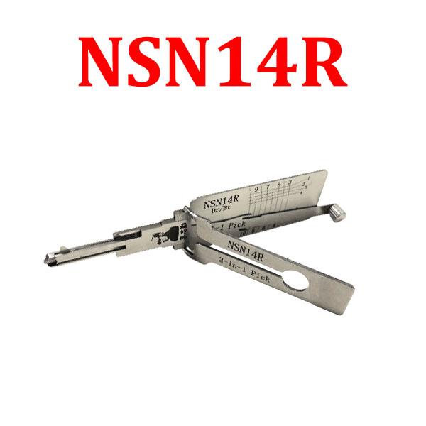 Original LISHI NSN14R Auto Pick and Decoder for Nissan
