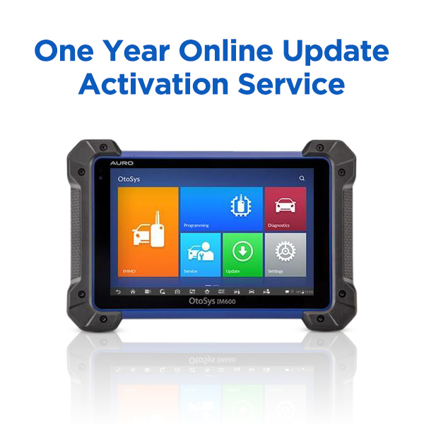 One Year Online Update Activation Service for Auro IM600  & Autel IM608