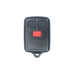 3 Buttons Remote Key Shell for Toyota & BYD - Pack of 5