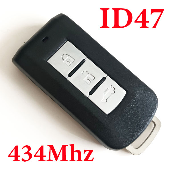 3 Buttons 434 MHz Smart Proximity Key for Mitsubishi - ID47