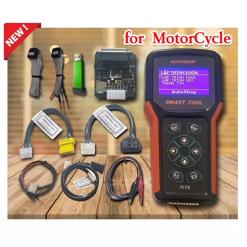 Super Key Programmer for Honda Yamaha Suzuki Piaggo Motorcycle - Support All Key lost Of Smart Key/ Keyless / Start Stop System