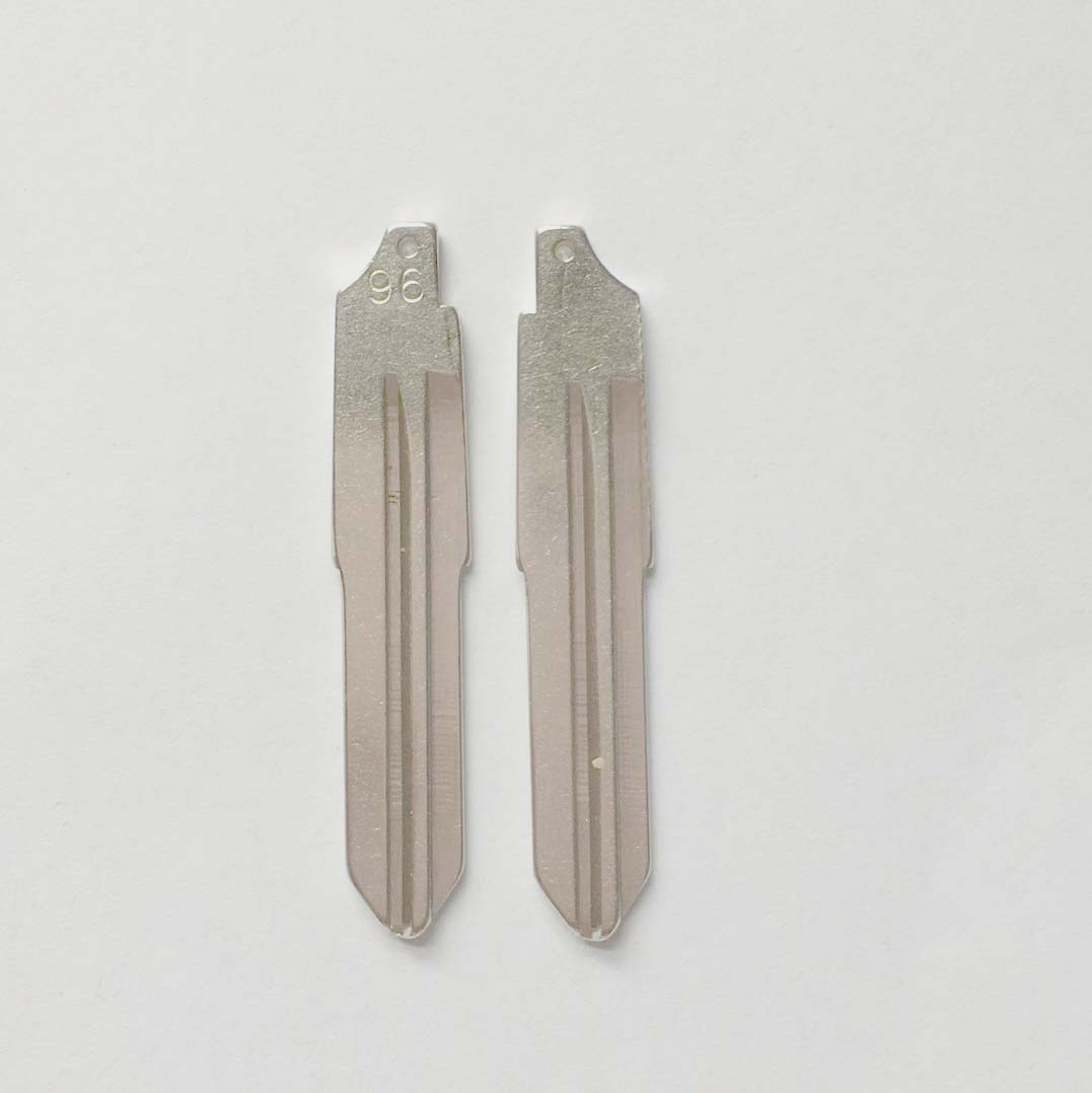 #96 Key blade For Daewoo - Pack of 10