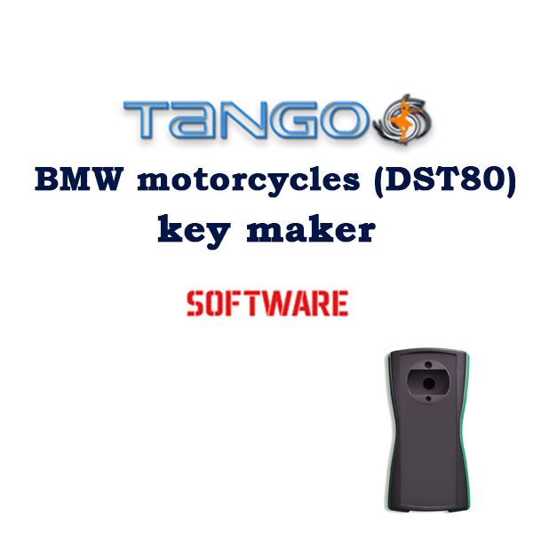TANGO BMW motorcycles (DST80) key maker Software