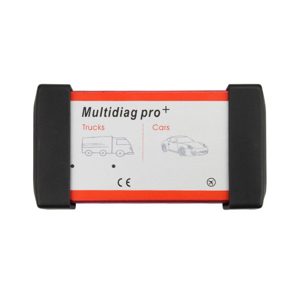 New Design Multidiag Pro+ for Cars/Trucks and OBD2 Without Bluetooth