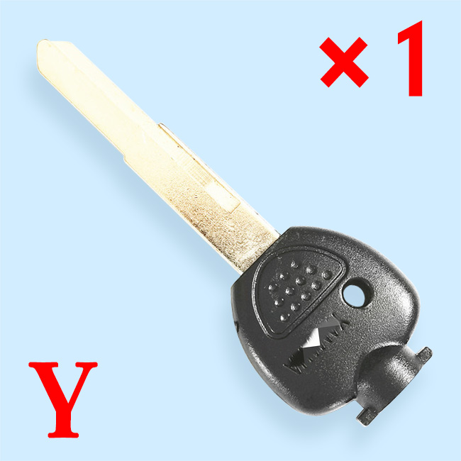 Key Shell with Right Blade for Yamaha Motorcycle 250 majiesite 250/400 YP250 YP400