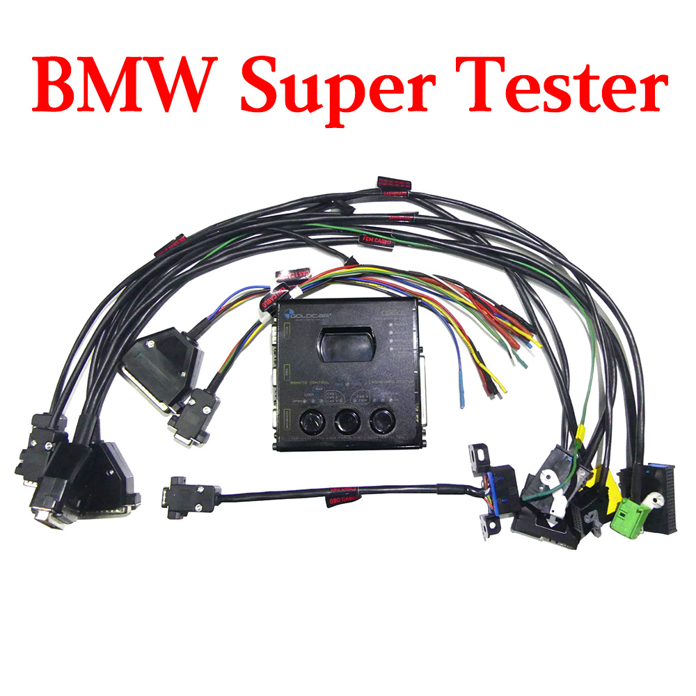 BMW CAS & BDC FEM Gateway Testing Tool - for CAS1 CAS2 CAS3 CAS4 FEM ELV ECU Dashboard OBD Remote Control Test