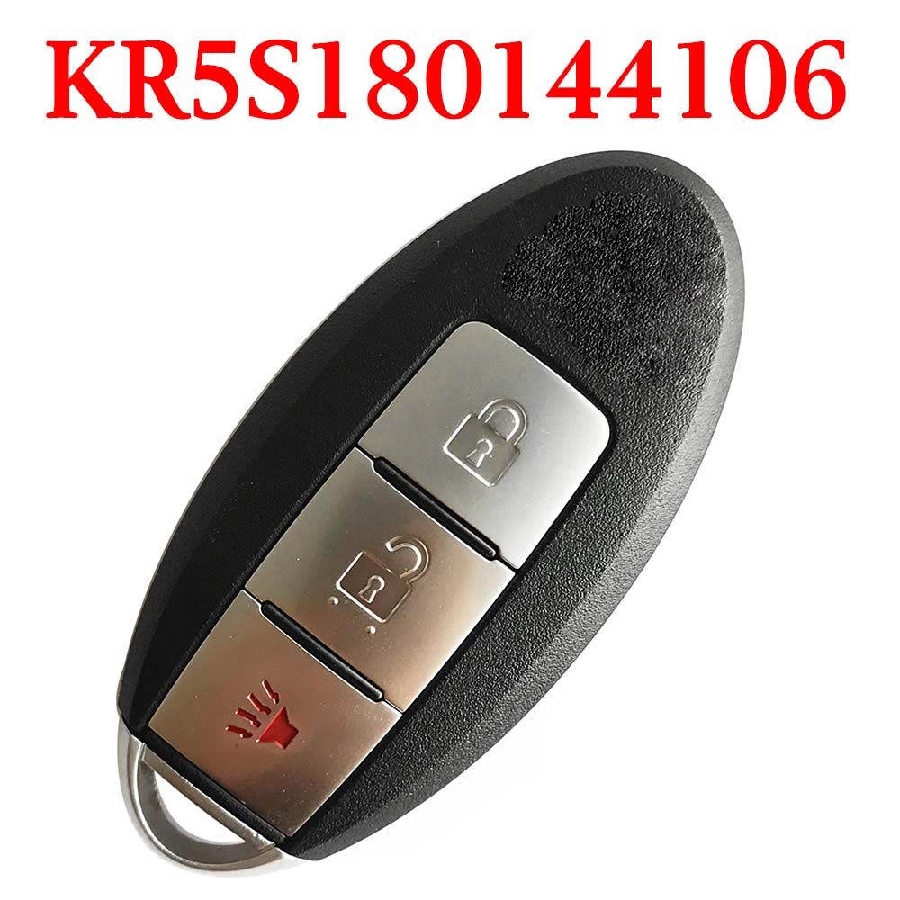 434 MHz 2+1 Buttons Smart Proximity Key for Nissan Rogue 2014-2017 - KR5S180144106 ( 4A Cihp )