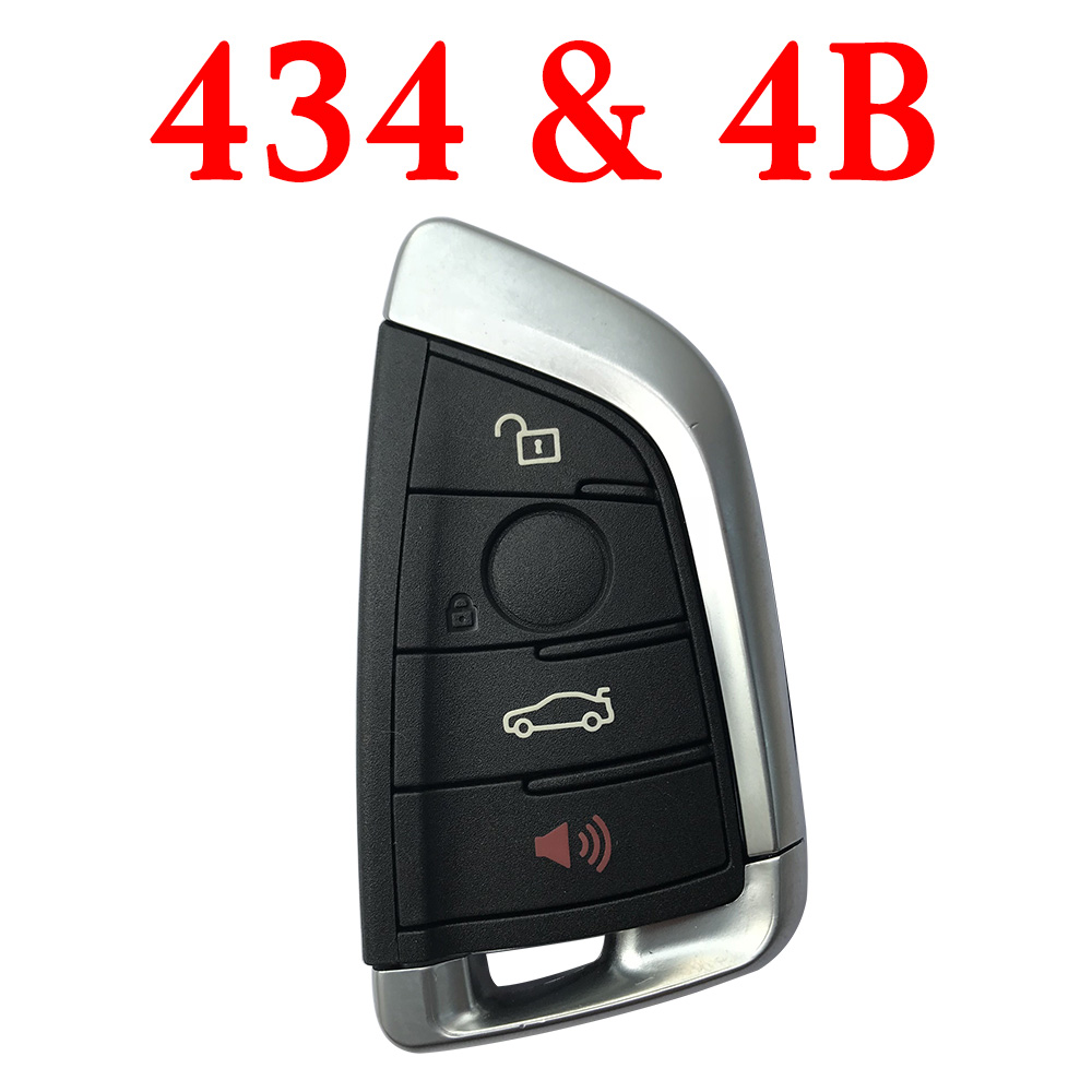 Smart Remote Key for BMW FEM - 4 Buttons 434 MHz