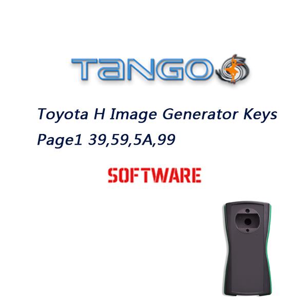 TANGO Toyota H Image Generator Keys Page1 39,59,5A,99 Software