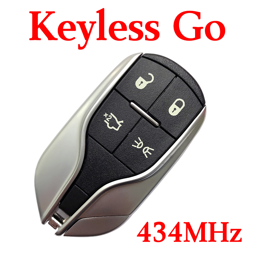 Top Quality 4 Buttons 434 MHz Smart Proximity Key for Maserati